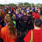 Walk To End Alzheimer's - Large Crowd Of Attendees