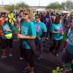 CCHLV Las Vegas - CompassionCare Hospice Team Participating In Alzheimers Walk 2016