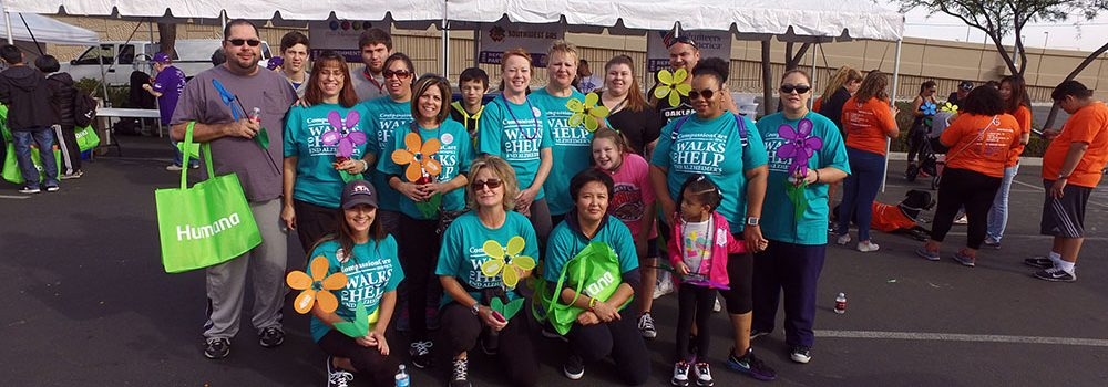 The CompassionCare Hospice Team - Walk To End Alzheimer's Las Vegas, Nevada 2016