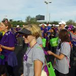 Supporters For Alzheimer's Walk - Located In Las Vegas, Nevada 2016
